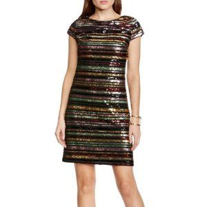 NWT Vince Camuto Sequin Striped Dress